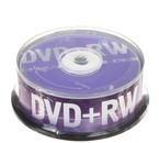 Компакт-диск DVD+RW Data Standard, 4x, CakeBox (цена за 25 шт.)