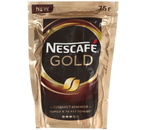 Кофе молотый в растворимом Nescafe Gold